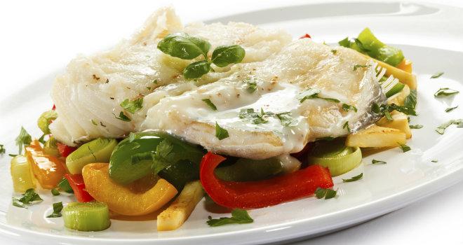 Naturverd receta pescado al horno con verduras - Salsa para verduras al horno ...
