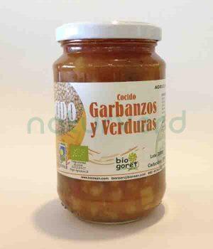 Comprar Online Cocido Garbanzos Verduras