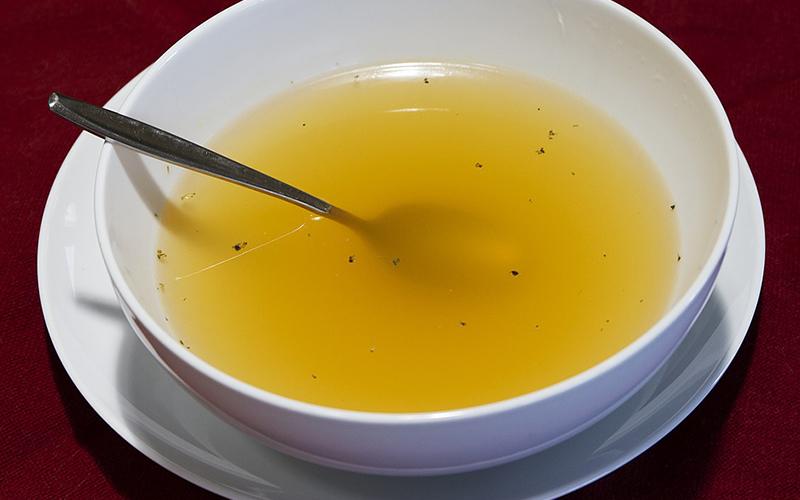 sopa para el resfriado